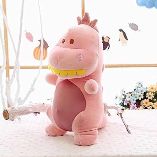 Morbuy Peluche Relleno, Sr. Dinosaurio Juguete de Peluche Suave Lindo Animals 40cm Mejores Regalos para Niños (Rosado)