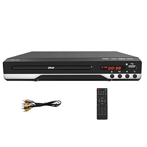 Review 110-220V Portable Multiple Playback DVD Player, ADH DVD CD SVCD VCD Disc Player Home Theatre ...
