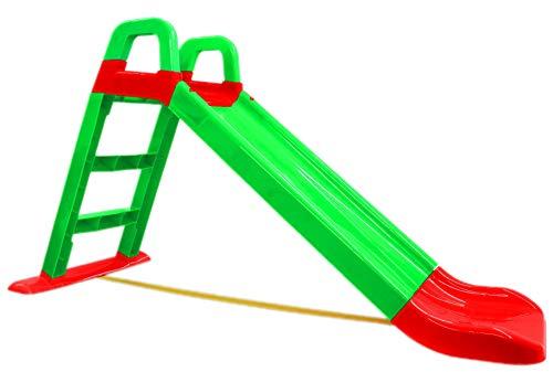 BUSDUGA Rutsche Grün - kompakete Kinderrutsche ab 18 Monate - robuster Kunststoff