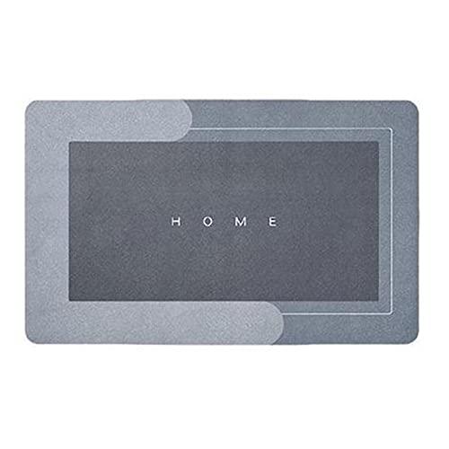 "Super Absorbent Floor Mat, Memory Foam Bath Mat 15.74"" X 23.62"" Absorbent Super Cozy Soft Strong Non-Slip PVC Bathroom Rug Easy to Clean Wash Bathroom Carpet (Rectangle, 15.74"" X 23.62"")"