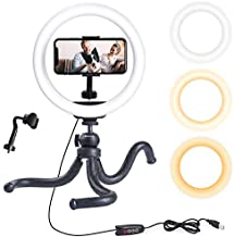 Endurax Selfie Ring Light with Stand for Phone, 10