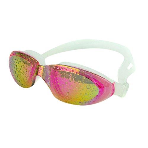 Tookang Unisexo Gafas De Natación Impermeable Gafas Antiniebla Textura Suave Correa De Cabeza Ajustable Fácil No Lastima El Cuerpo Viene Con Caja De Gafas