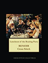 Luncheon of the Boating Party: Renoir cross stitch pattern