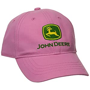 John Deere Girls' Toddler Trademark Baseball Cap