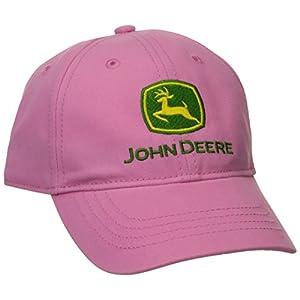 John Deere Girls' Toddler Trademark Baseball Cap