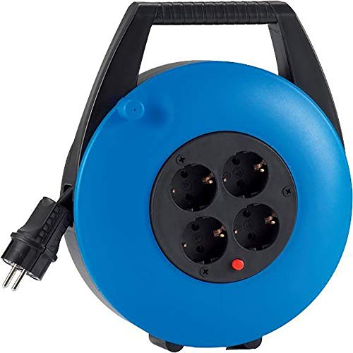 HEDI KBB10T Kabelbox, 250 V, blau, schwarz