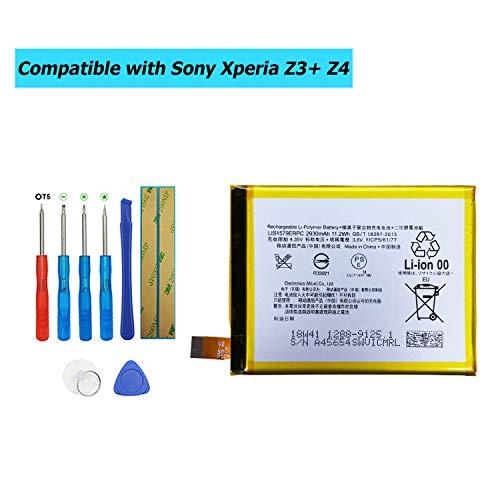 Upplus LIS1579ERPC Ersatz Akku Kompatibel Für Sony Xperia Z3+ Z4 C5 E6553 Z3 Neo SO-03G with Toolkit
