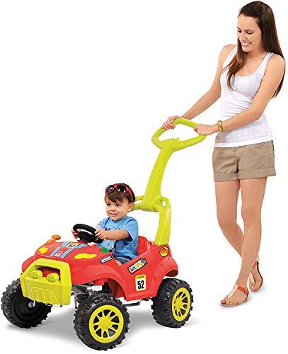 Veiculo para Bebe Smart Passeio e Pedal, Brinquedos Bandeirante, Multicor