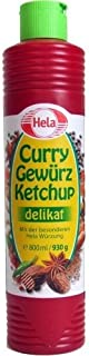 German Hela Delicate Spicy Curry Ketchup - 1 x 800 ml