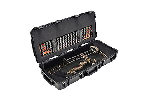 SKB Injection-Molded Small Parallel Limb Bow Case, Black