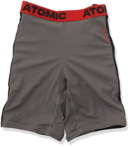 Atomic Damen/Herren Ski-Protektor Live Shield Short, Größe S, grau/schwarz, AN5205026S