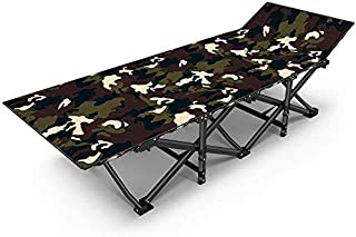 Foldable Beach Chair/Portable Garden Recliner/Sun Lounger/Camping Folding Bed, Camouflage Oxford, Suitable for Garden/Pool/Beach Loungers. Support 200Kg,A