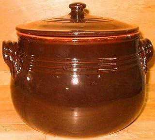 Olla de barro 20cm con tapa bicolor _ La cocina de la abuela