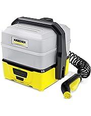 Kärcher Mobile Outdoor Cleaner OC 3 Plus (extra grote afneembare watertank 7 l, lithium-ion accuduur 15 min, gematigde lagedruk, vlakstraalsproeier)