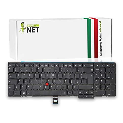 New Net Keyboards Tastiera Italiana Compatibile con Notebook Lenovo ThinkPad T540 T540P W540 W541 L540 L560 L570 T550 T560 P50s E531 E540 E545