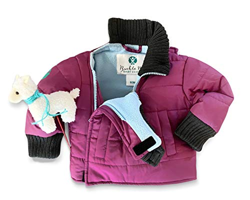 Buckle Me Baby Car Seat Coats | Safer Warm Winter Jackets Baby...