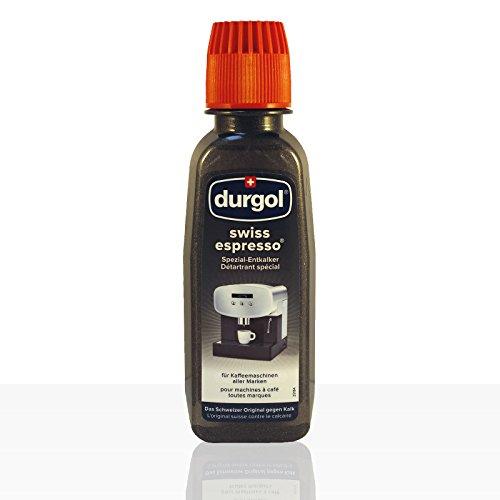 Durgol Swiss Espresso Spezial-Entkalker, Spezialentkalker, 2 Packungen, 4 x 125ml