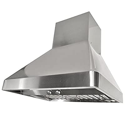 "KOBE Range Hoods Contemporary Brillia 30"" Wall Mount Range Hood"