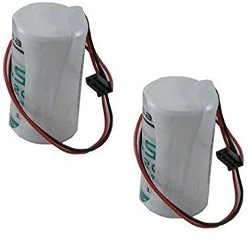 Maxxistore - 2 BATTERIE LITIO SAFT 3,6 V 13 AH LSH 20 compatibili ANTIFURTO ELKRON WL31 HP30WL BAT80009