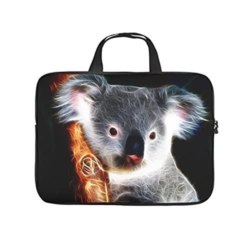 Facbalaign Koala - Bolso para ordenador portátil con iluminación