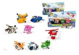Color Baby - Super Wings - Dizzy, Donnie, Jerome, Bello - Pack 4 Transform-a-Bots