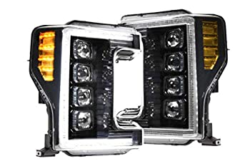 Morimoto LF503-ASM XB LED Headlight Assemblies Compatible with 2017-2019 Ford F250 F350 F450 Super Duty
