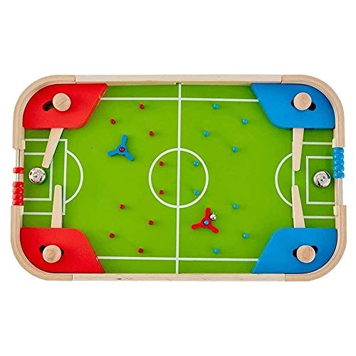 Luorizb Children's Table Pinball Machine Toy Game Table Playing Football Baby Tabletop Football Machine Board Game 3-6 Years Old