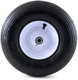 Arnold 14-Inch Wheelbarrow Wheel with Ribbed Tread