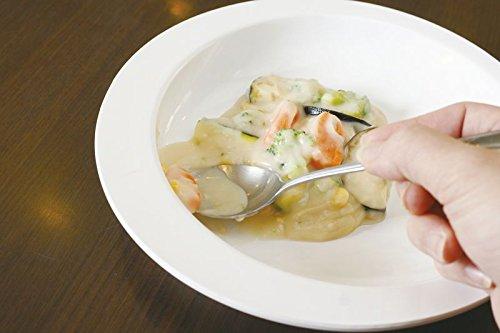 アビリティーズ・ケアネット すくいやすい皿 ベージュ