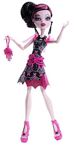 Mattel Monster High BDF23 - Licht aus Grusel an Draculaura, Puppe