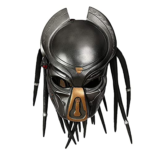 Predator Masque Helmet,takerlama Alien Mask,natural Latex Full Head Mask,carnival Masquerade...
