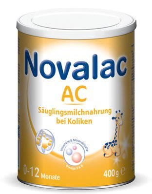 Novalac AC Säuglingsmilchnahrung 0-6 Monate (400 G)