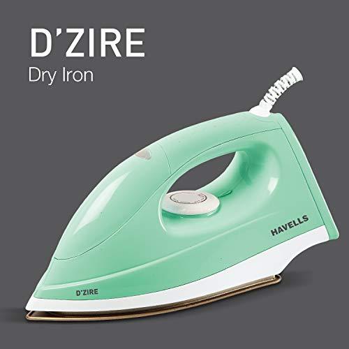 Havells D'zire 1000-Watt Dry Iron (Mint)