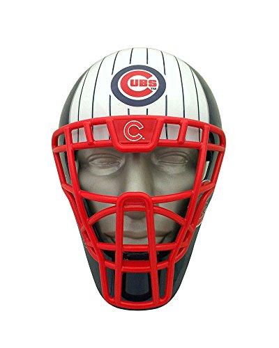 MLB Chicago Cubs espuma Fanatics Ventilador máscara, Negro, un tamaño