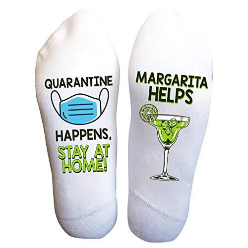 Margarita Socks Funny Drink Quarantine Funny Christmas Gift