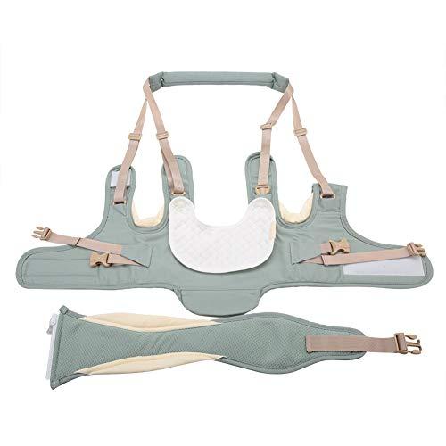 CHICIRIS Baby Walker Assistant, Producto de algodón para bebé que camina arnés para uso en el hogar para 6-36months (azul menta)