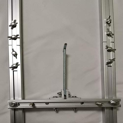 9 FT Rail Mill Guide System 3 Crossbar Kits Work with Chainsaw Mill