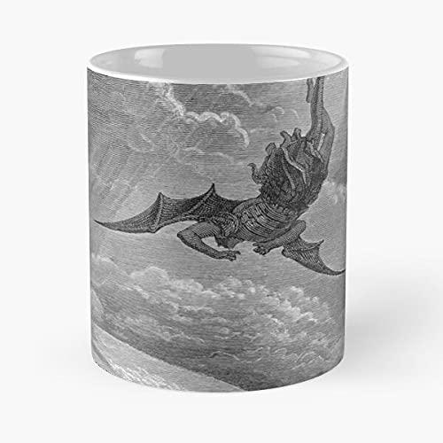 Paradise Lost – La migliore tazza da caffè in ceramica di marmo bianco da 11 oz