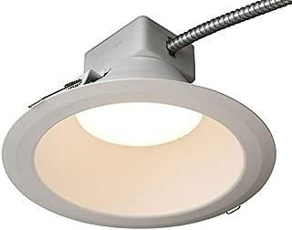 GE Lighting RX810835MV RX Series 8 in Round Retrofit LED recessed Downlight, White