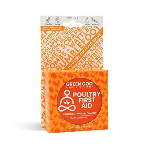 GREEN GOO All Natural Poultry First Aid, 1.82 Ounce Large Tin