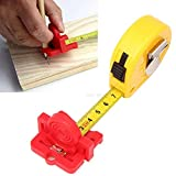 Woodworking Scribe Mark Line Gauge Ruler Measuring Tool Gypsum board Cutting Guide Auxiliary accessories Plastic Marking Tool