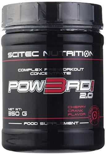 Scitec Nutrition Pow3rd! 2.0 fórmula pre entrenamiento Cereza 350 g