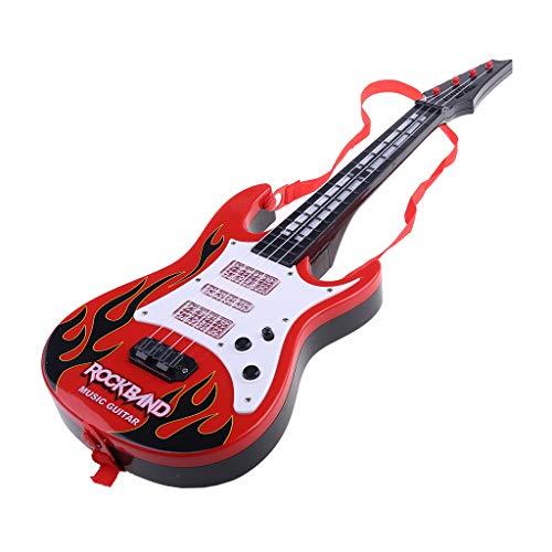 guangzhou Music Guitarra eléctrica 4 Cuerdas Instrumento Musical Juguete Educativo Juguete para...