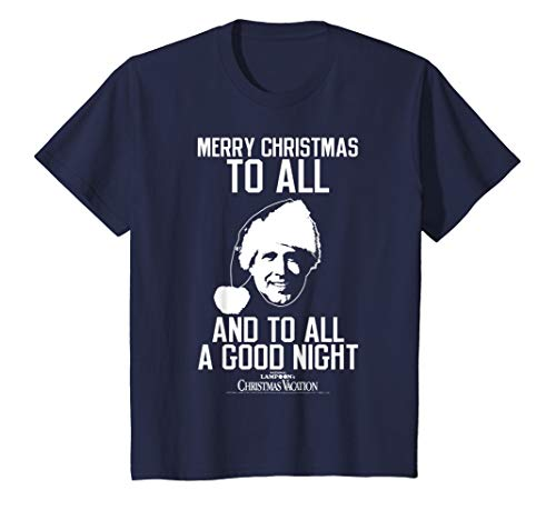 Kids National Lampoon's Christmas Vacation A Good Night Text T-Shirt