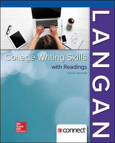 Compare Textbook Prices for College Writing Skills with Readings 10 Edition ISBN 9781259680939 by Langan, John,Albright, Zoe