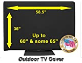 Outdoor TV Cover (60'-65') Black (Not for Direct Sun)