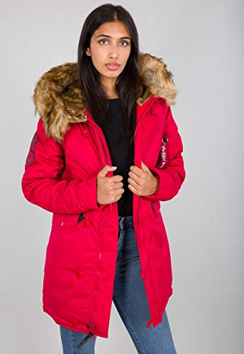 Alpha Industries Explorer Damen Jacke Rot S