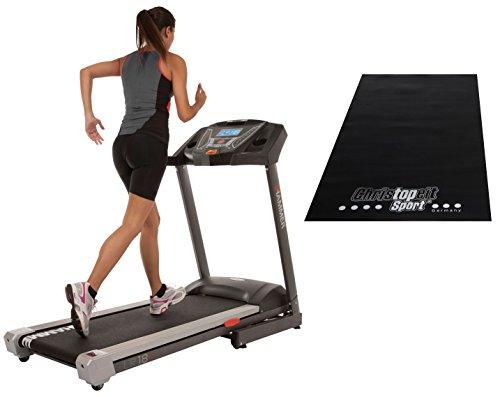 HAMMER Fitness Set Laufband LR18i mit Unterlegmatte, 5593