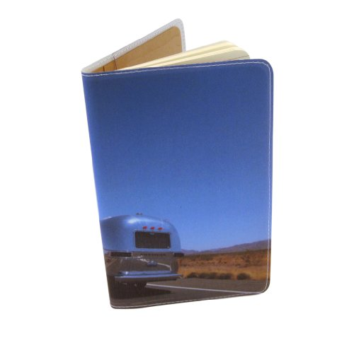 On The Road Airstream Journal (Diary, Notebook) w/Moleskine Cahier Pocket Cover