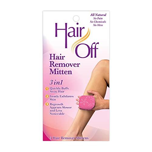 Hair Off Hair Remover Mitten 3-N-1